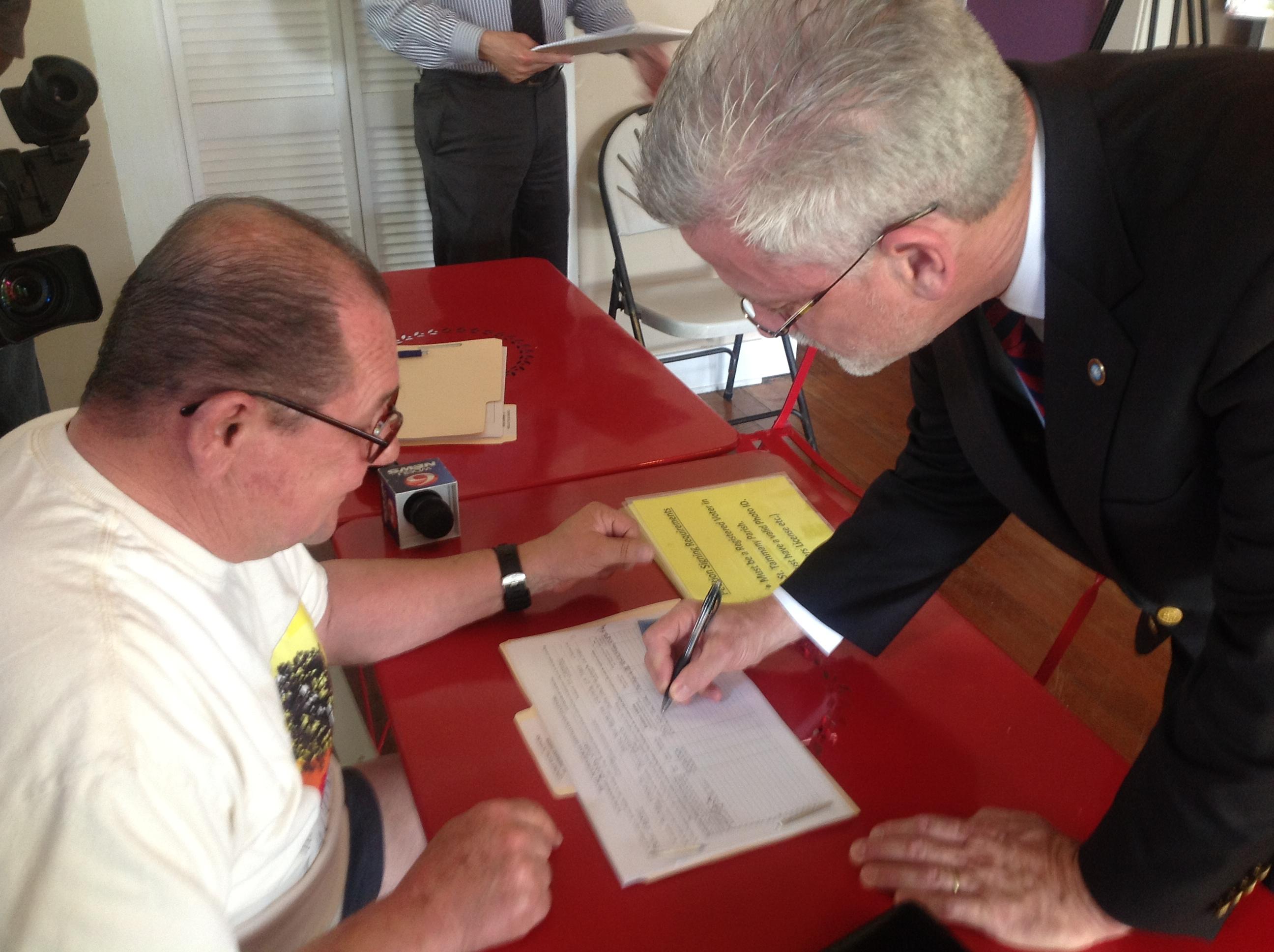 CCST Political RF Signing